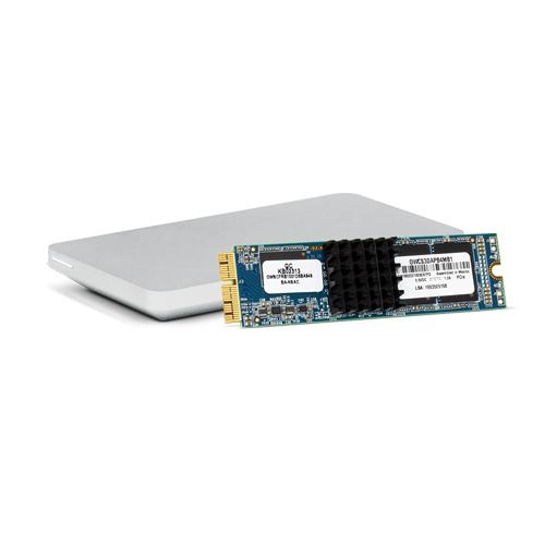 OWC 1 TB SSD Aura Pro X with Envoy Pro Enclosure for Mac Pro