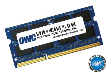 OWC 4GB DDR3 SO-DIMM RAM 12800 1600Mhz