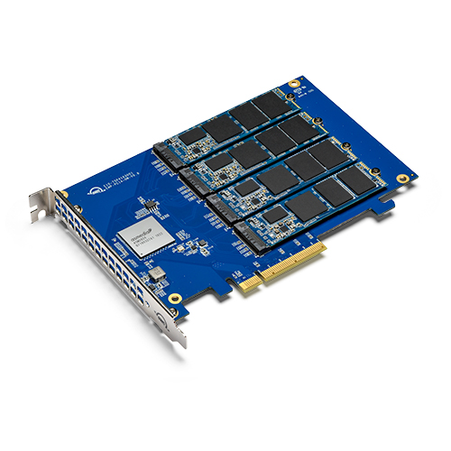 OWC 1.0TB  & 2.0TB Accelsior 4M2 PCIe M.2 NVMe SSD Adapter Card
