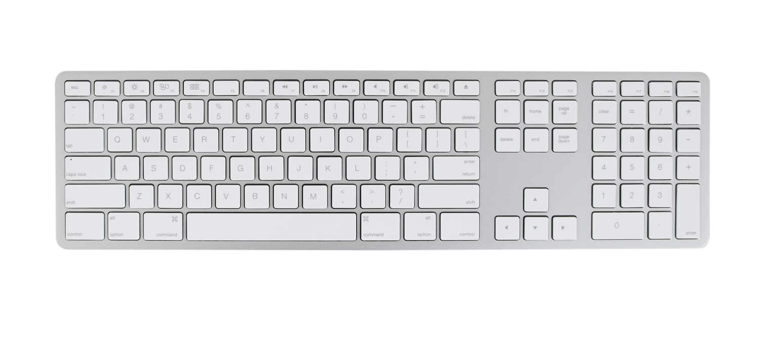 iAttach Wired USB Keyboard For Mac