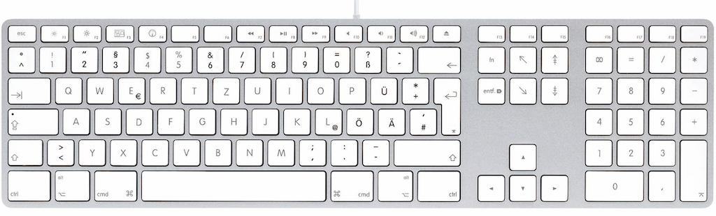 LMP USB Keyboard for Mac machines