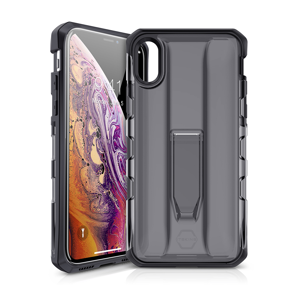 ITSKINS Hybrid Stand Case for iPhone XS / X