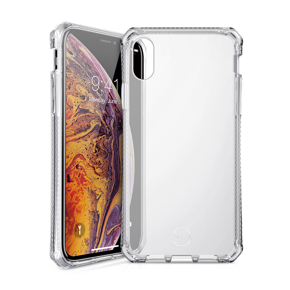 ITSKINS Spectrum Clear Case for iPhone XS MAX