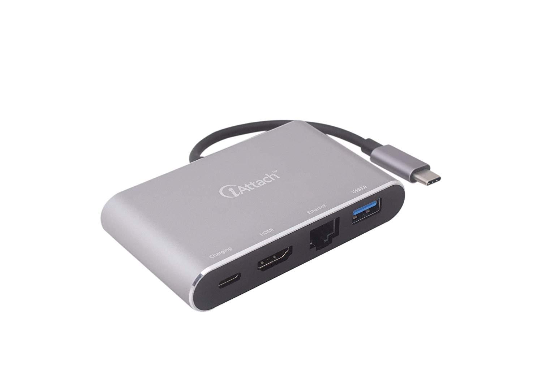 iAttach 4 in 1 USB Type C HUB