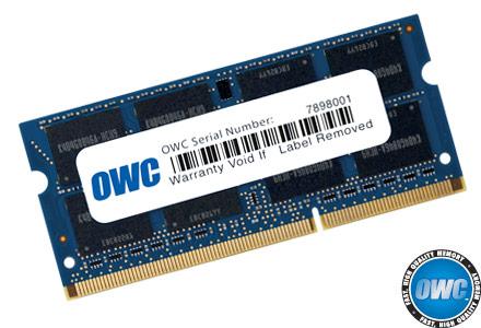 OWC 8GB DDR3 SO-DIMM RAM 10600 1333Mhz