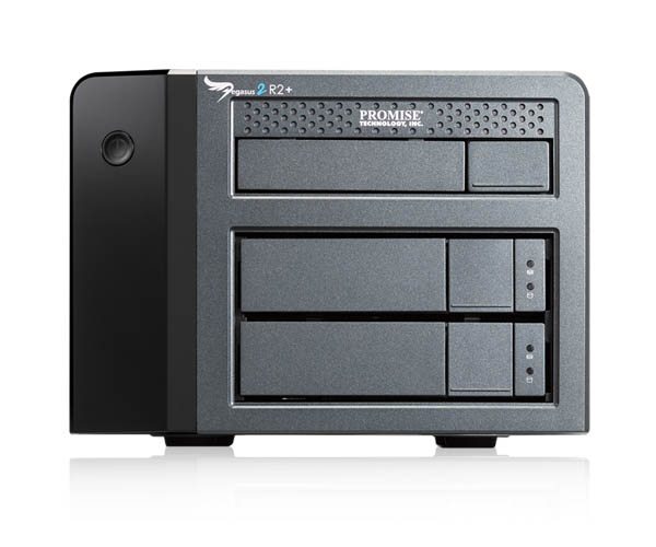 Promise Pegasus2 R2 6TB RAID System and CF/SD Reader pod