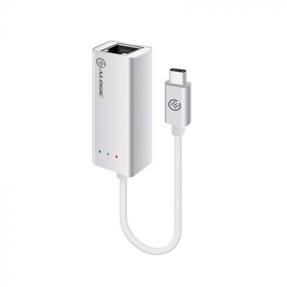 ALOGIC USB-C to Gigabit Ethernet Adapter - Aluminium - Prime Series
