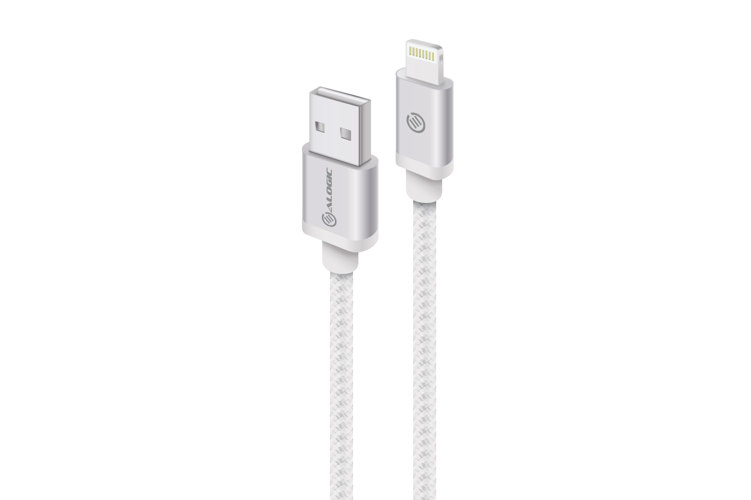 ALOGIC Prime Lightning to USB Cable - Charge and Sync - Premium & Durable - Mfi Certified - 1m