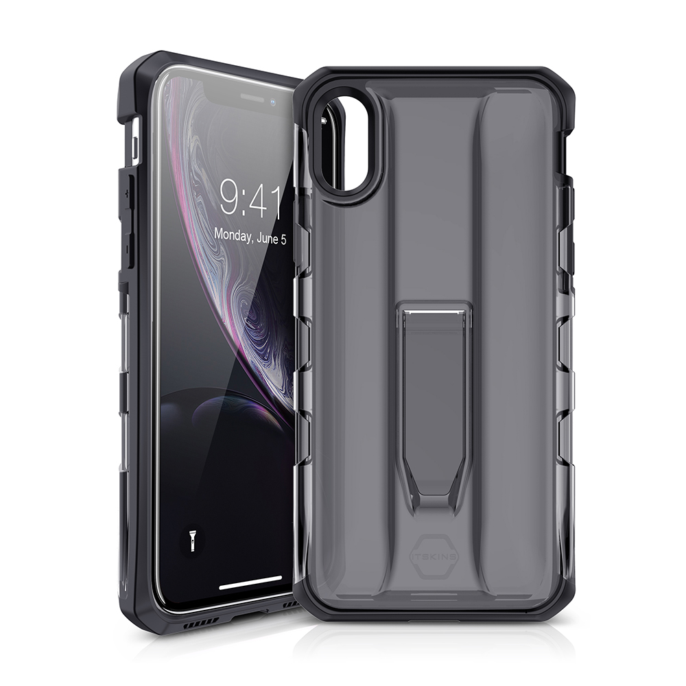 ITSKINS Hybrid Stand Case for iPhone XR